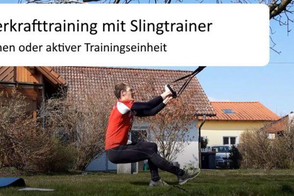 Ganzkörperkrafttraining Slingtrainer