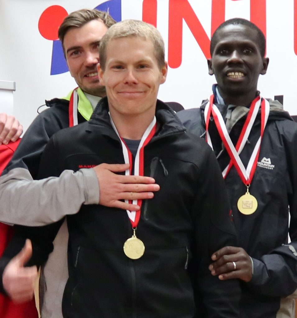 Crosslauf Landesmeisterschaft als Testwettkampf für die derzeitige Laufform
