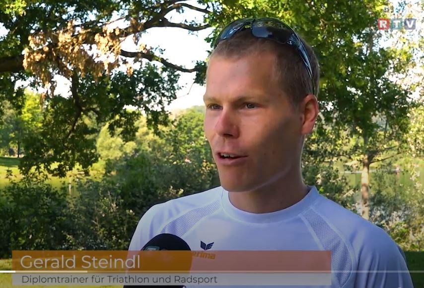 Fernsehbeitrag über Triathlon